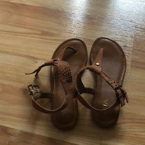 Mia brown sandals